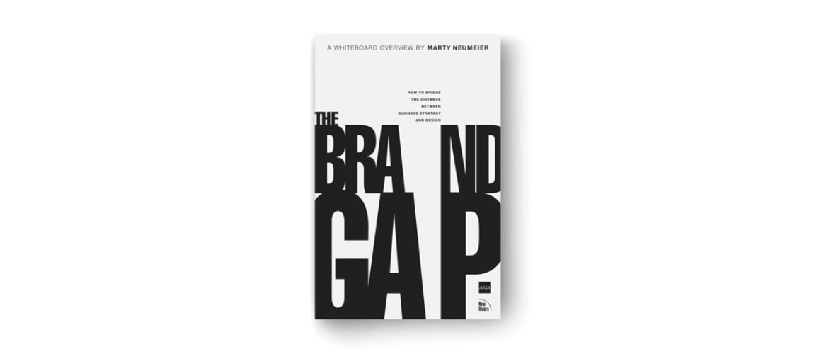The Brand Gap by Marty Neumeier.