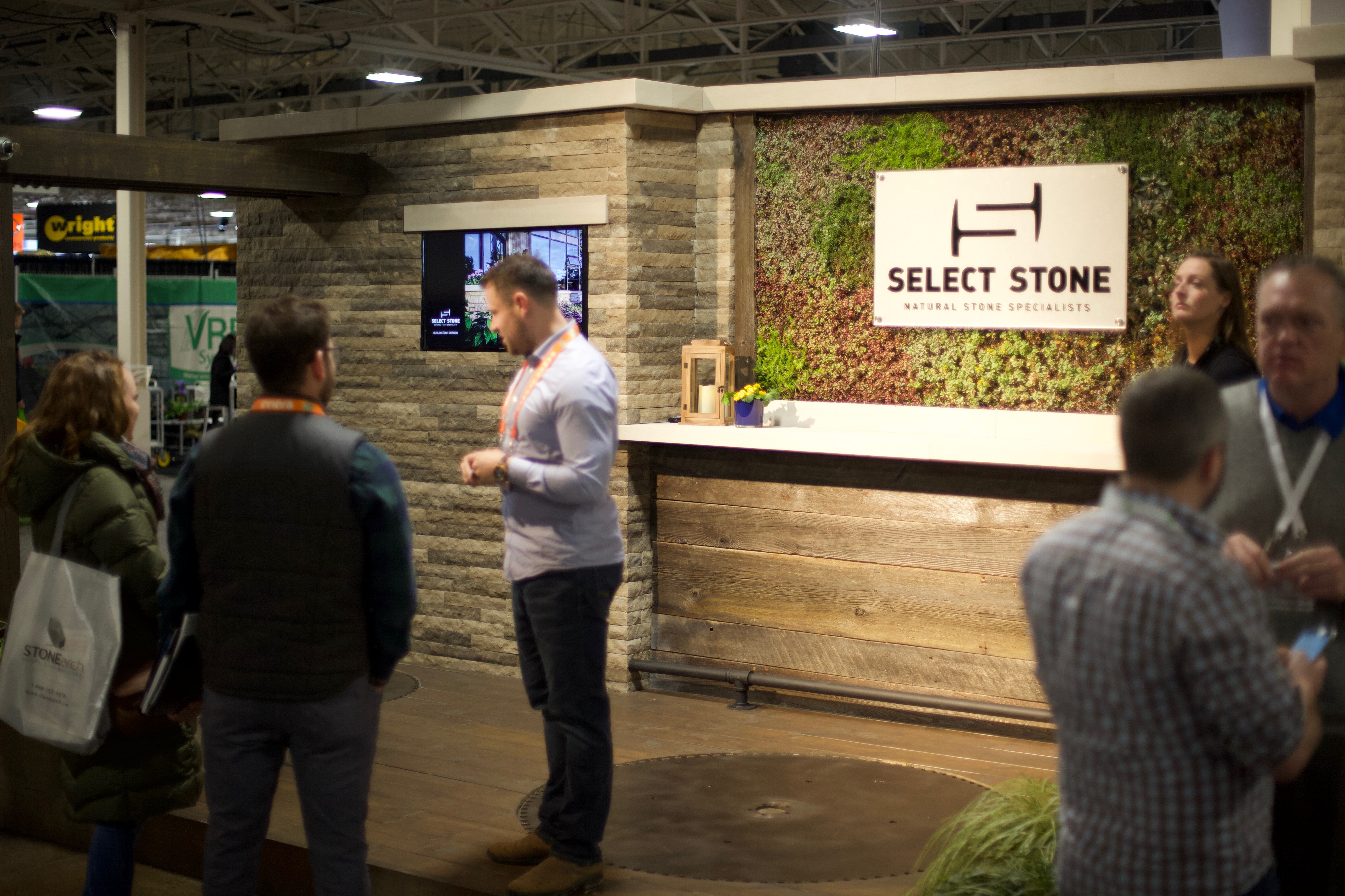 Select Stone's booth.