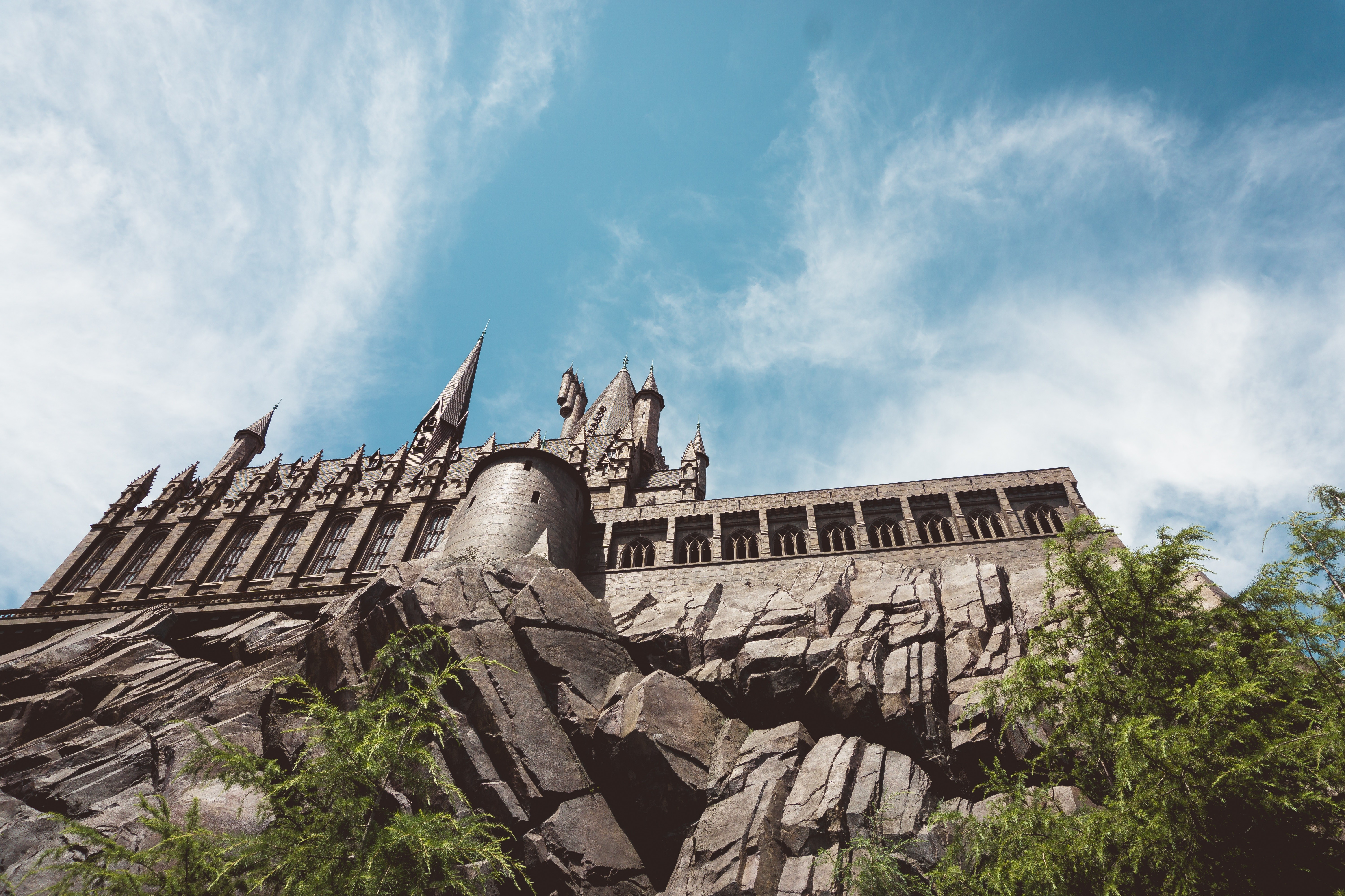 Hogwarts Castle at Universal Islands of Adventure.